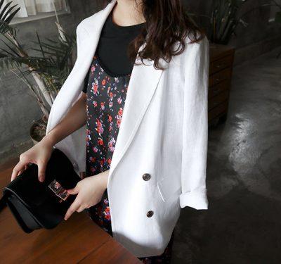 Voice linen Jacket
